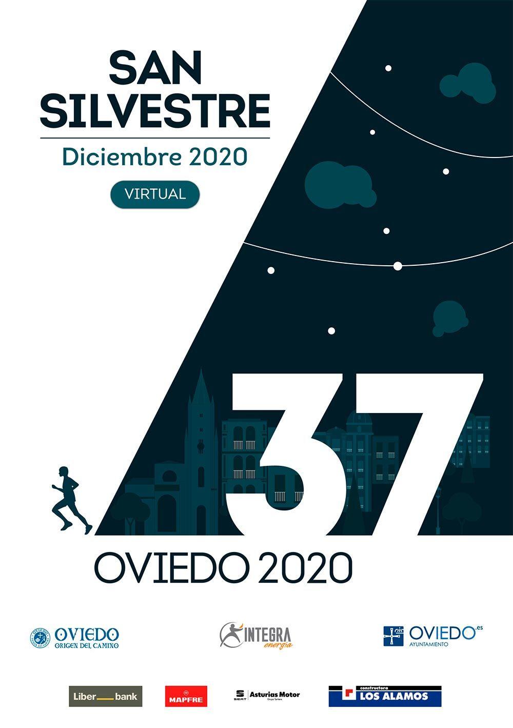 San Silvestre Virtual Ciudad de Oviedo 2020