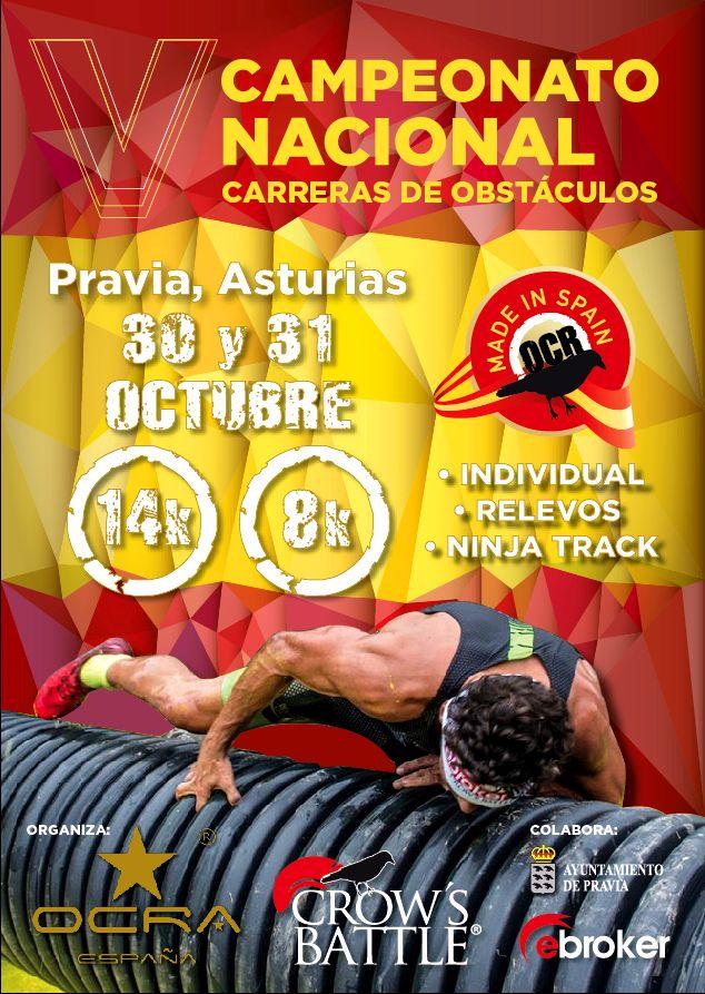 V Campeonato Nacional Carreras de Obstáculos, Ebroker Crows Battle Pravia