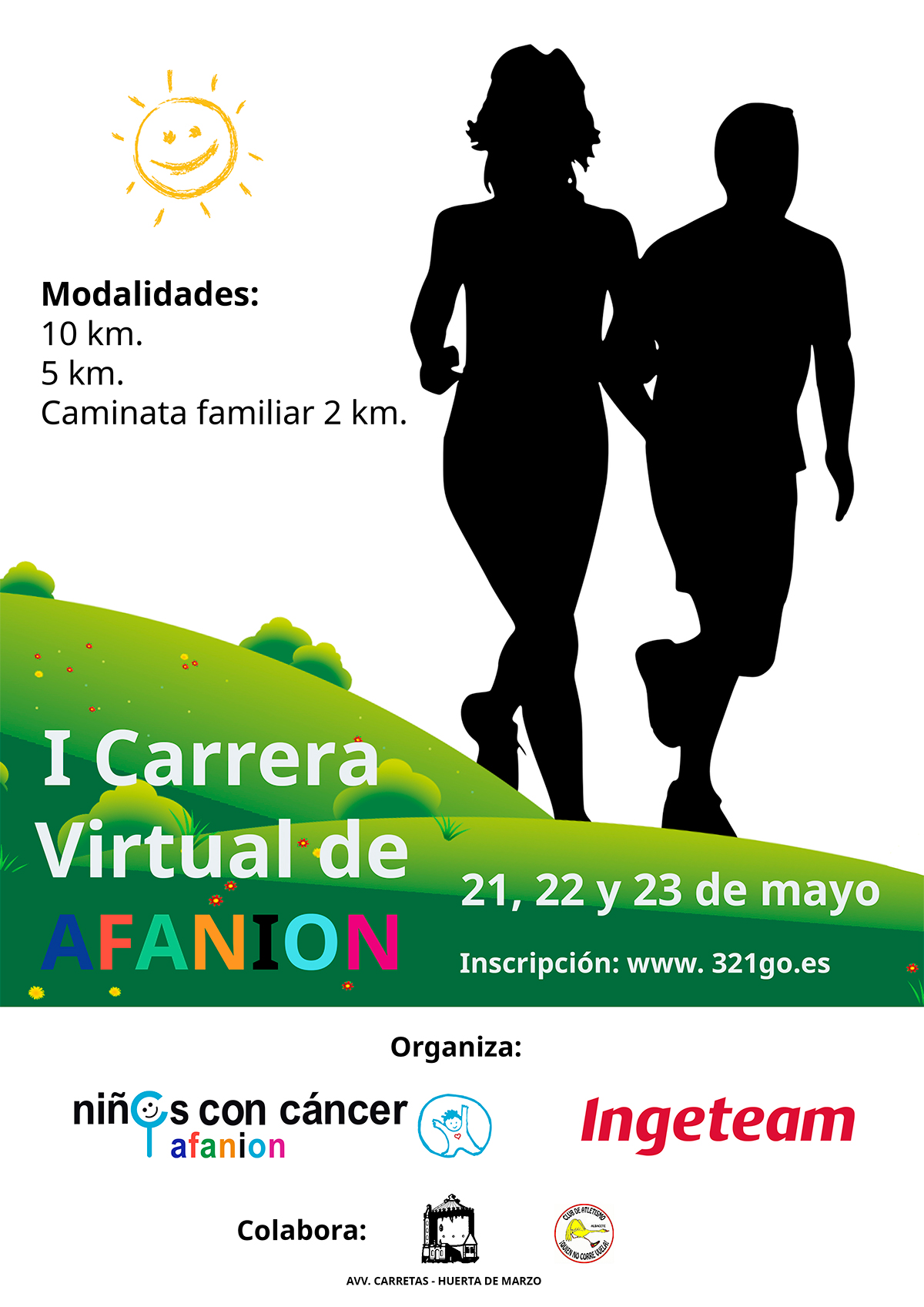 I CARRERA VIRTUAL DE AFANION